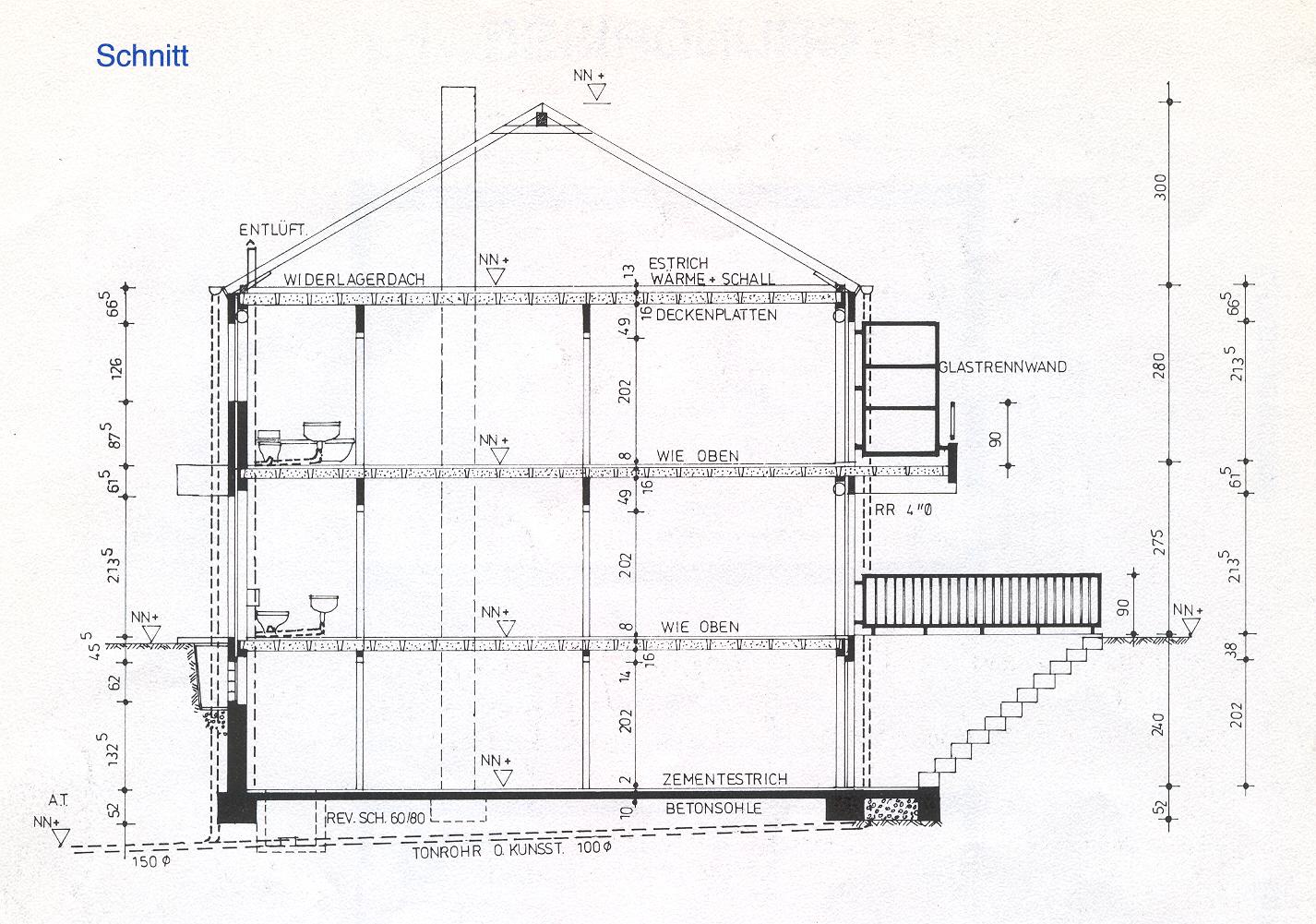 grundrisse reihenendhaus neviges. Black Bedroom Furniture Sets. Home Design Ideas